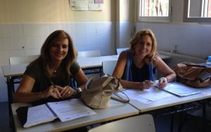 MABEL Y LOLA Profesoras del IES LEONARDO DA VINCI