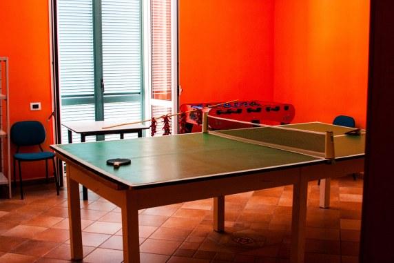 """Sala de juegos de """"Villa Santa Chiara"""""""