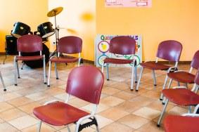 """Sala de actividades grupales de """"Villa Santa Chiara"""""""