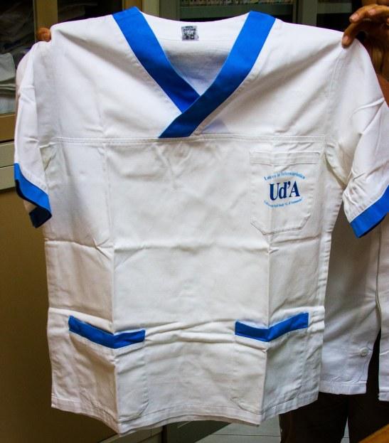 El pijama de la escuela de enfermería