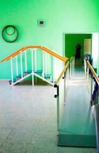 Sala de fisioterapia y rehabilitación psicofísica